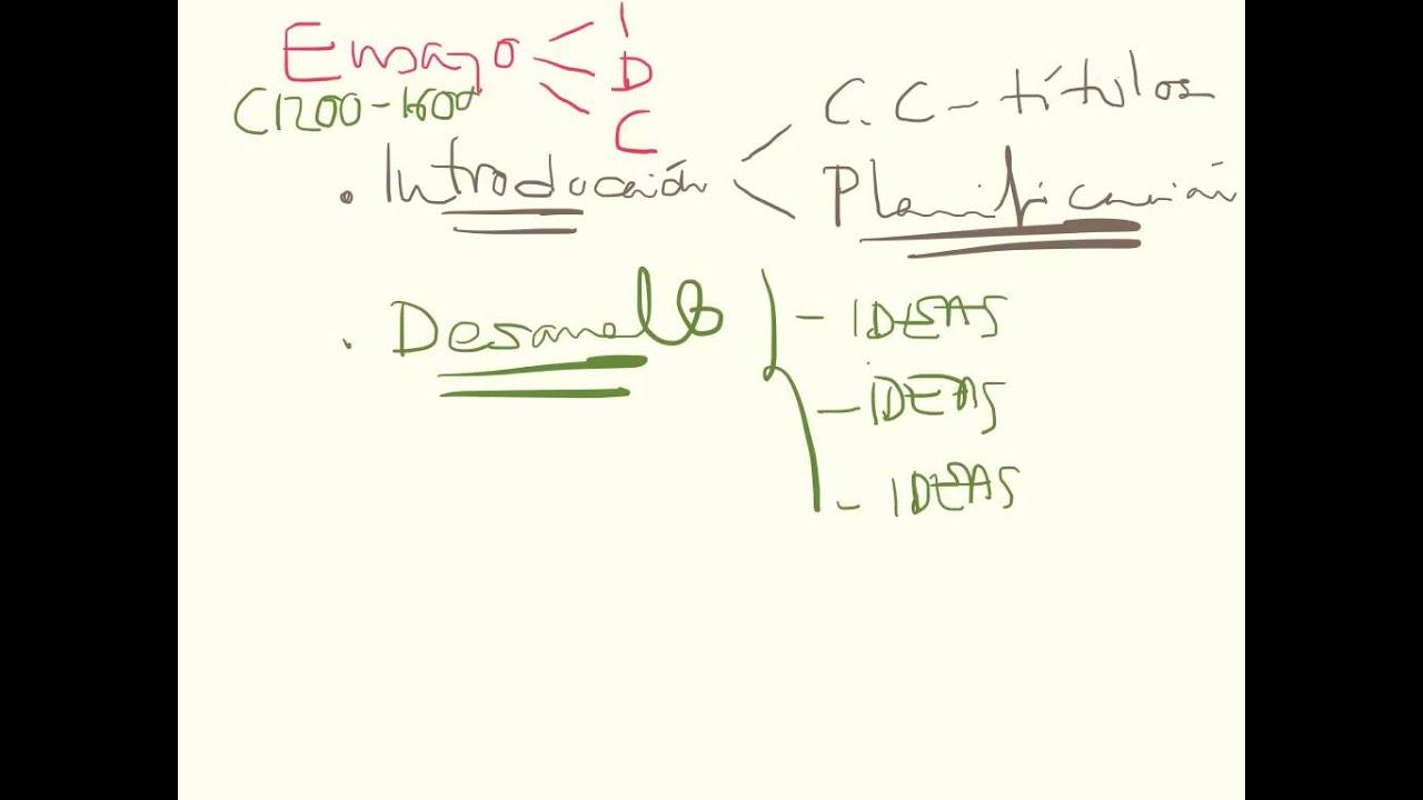Estructura General Ensayo Tdc
