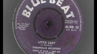 theophilus beckford little lady blue beat 33 shuffle ska