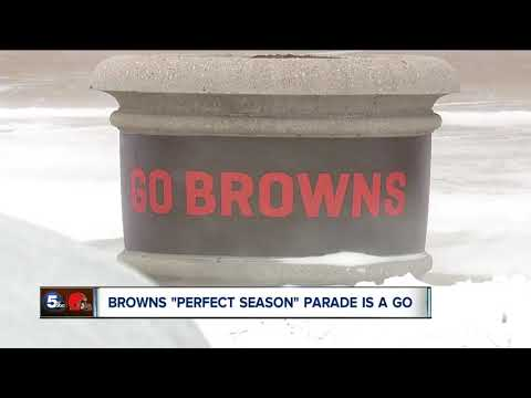 Plans for the Browns Perfect Season Parade move forward, as team ends season winless