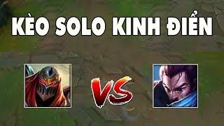 [LMHT] Zed vs Yasuo - Kèo Solo Kinh Điển Nhất LMHT | Trâu best Udyr