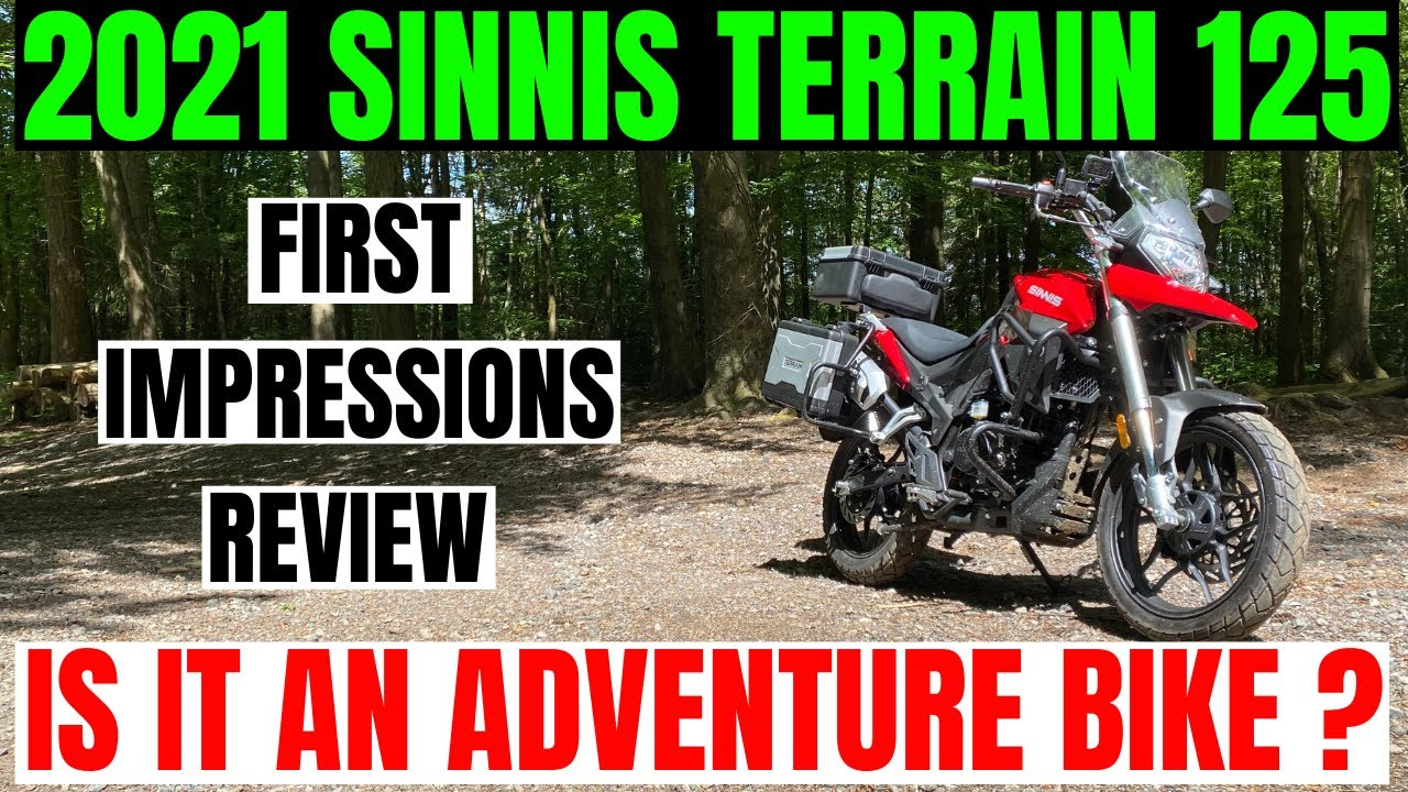 2021 | SINNIS | TERRAIN 125 | Is it an adventure bike ? | First impression