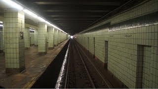 ᴴᴰ R32 A Express Train RFW Footage (Drivers Point of view) Jay Street to Lefferts Blvd