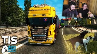 Στην Πάτρα με Mods! - Euro Truck Simulator 2 |#15| TechItSerious