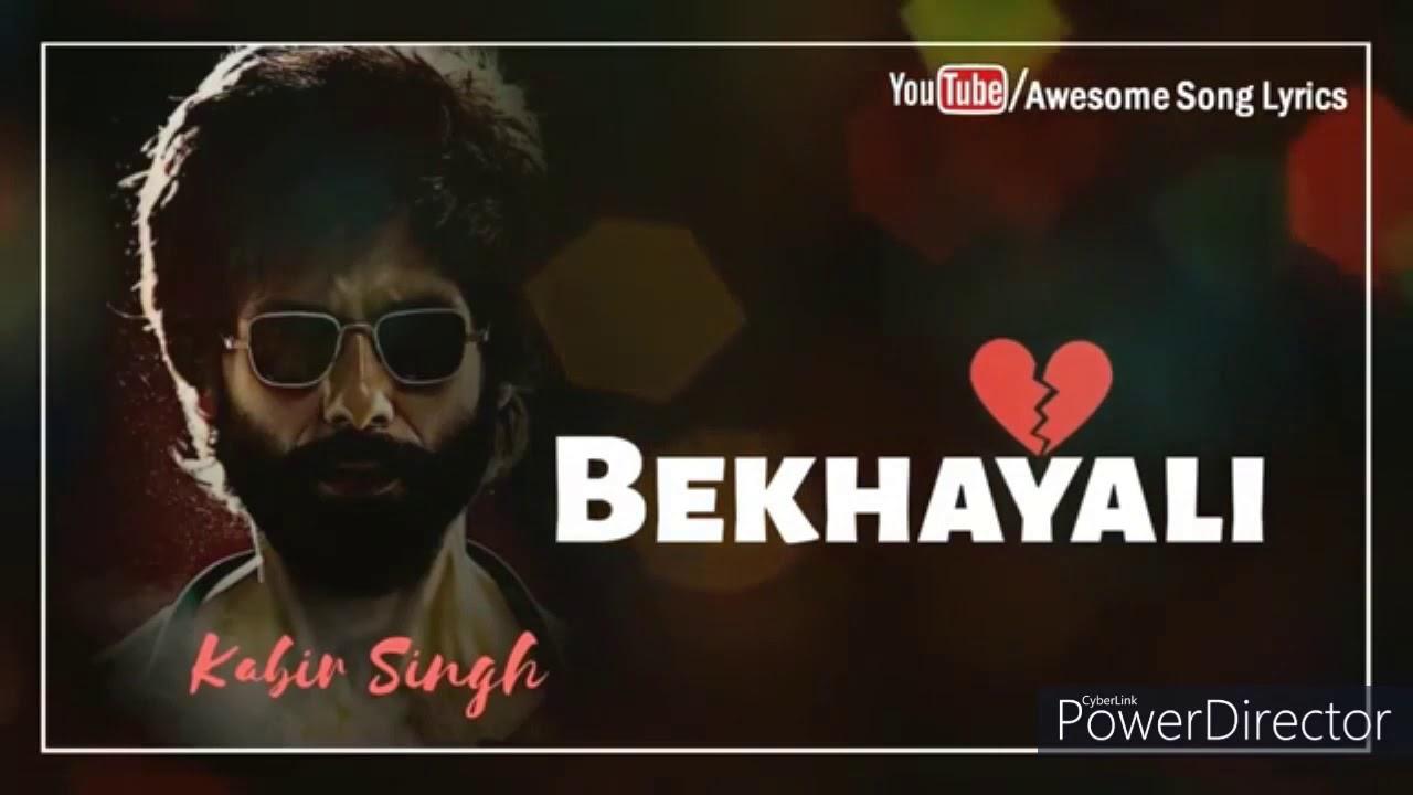 Bekhayali-Kabir sing-Shahid kapoor-By momina mustehsen
