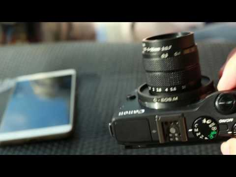 Compare 4mf C-Mount Lens with EOS M [TH]