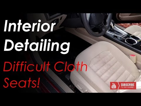Complete Interior Detailing // Cloth Seat Cleaning