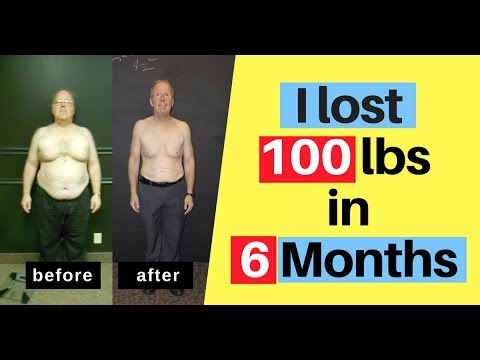 Weight Loss, I lost 100 lbs in 6 months