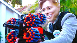Nerf War: Donald Trump VS Hillary Clinton thumbnail
