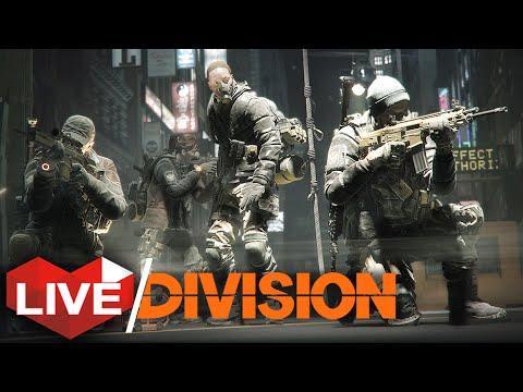 The Division: Dark Zone Exploration & Manhunt Survival! | Multiplayer Live Stream