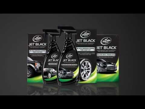 Turtle Wax - Jet Black Tire Coat Kit