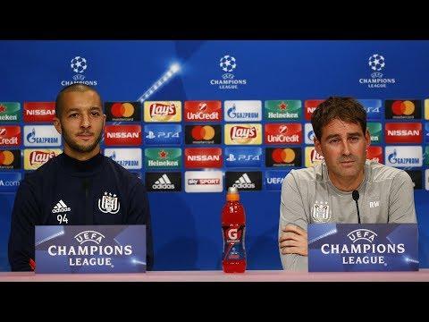Press conference René Weiler & Sofiane Hanni @ Allianz Arena
