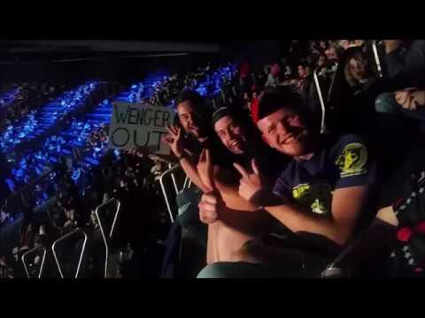 Cori post-SmackDown Live @O2 Arena, London