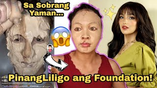 Part 2: I tried Viral Tiktok Makeup Trend ft. Andrea Brillantes look