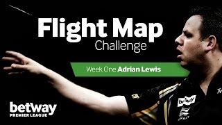 The Flight Map Challenge darts quiz | Episode 1 - Adrian Lewis