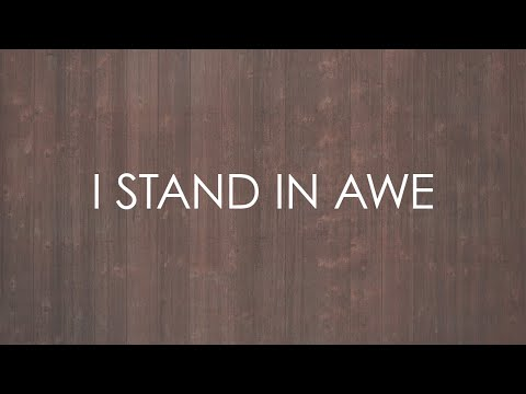 I Stand In Awe (feat. Glenn Packiam) - Official Lyric Video