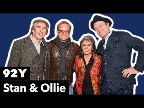 Steve Coogan, John C. Reilly and director Jon S. Baird on Stan & Ollie