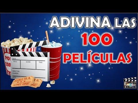 """Adivina Las """"100 PELÍCULAS"""" Test/Trivial/Quiz"""