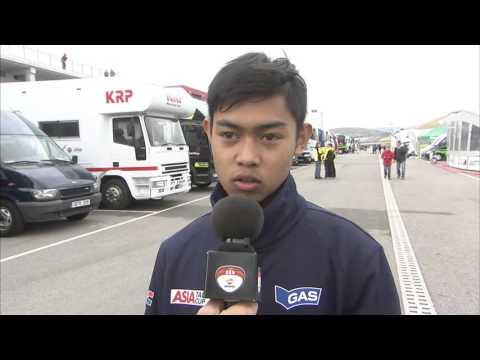 Moto3 Junior World Championship – Race 6 – Navarra - Norrodin Interview