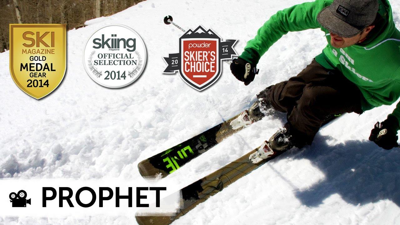 Line prophet skis carve it float conquer