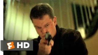 The Bourne Identity (10/10) Movie CLIP - Stairwell Plunge (2002) HD