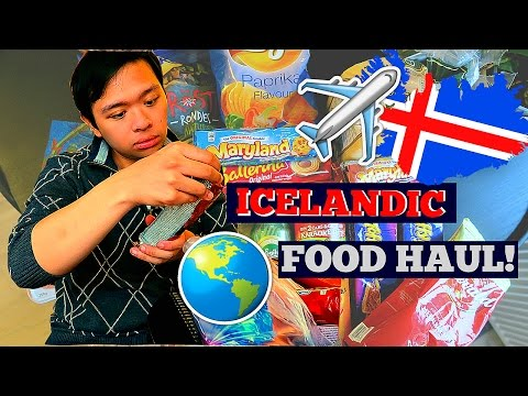 80 CENT BEER?! | Iceland Grocery Travel Haul!