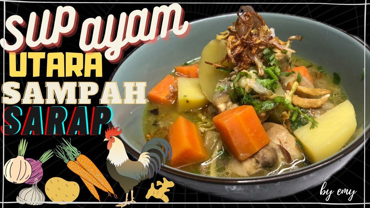 ayam utara resepi  utara ayam resepi mama muda hai viewers db   sayangi Resepi Sambal Kicap Untuk Sup Tulang Enak dan Mudah