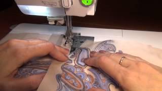 Уроки шитья для начинающих. Блуза: рукавная шлица