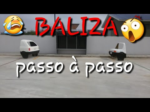 Baliza Passo A Passo Visao Do Motorista Youtube