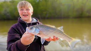 Catfish and Striper Fishing on Lake Wateree