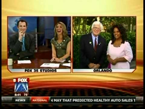 Phil Donawho and Oprah Double Take on FOX 5 Orlando, FL ...