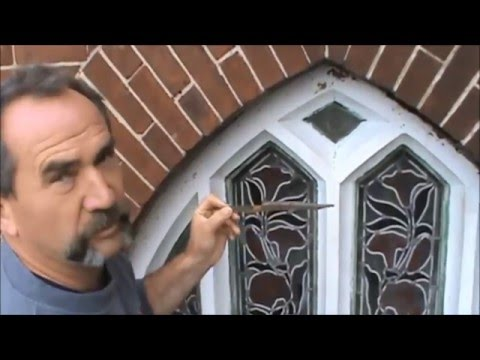 Restoring Stained Glass with Ventilated Protection