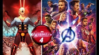 Avengers 4 will introduce the ETERNALS Two huge clues for Marvel Phase 4