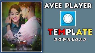 bas tera sath ho status song  | avee player #fullscreen template download link |