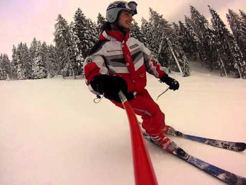 Kevin il migliore, gopro skiing in forni di sopra