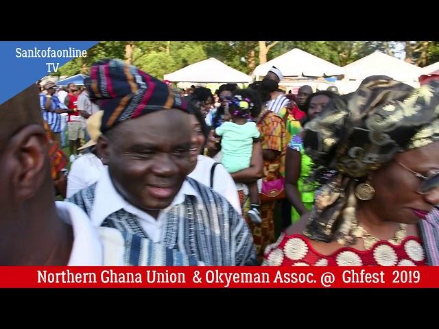 Ghana Northern Union & Okyeman Association.
