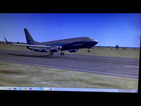 Landing at Hato Airport - Curacao (Netherlands Antilles)
