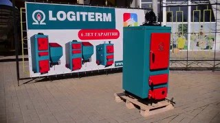 Обзор котла длительного горения LOGITERM STANDARTMAX