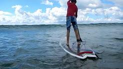 Stand up paddle boarding (SUP) - Orewa, New Zealand