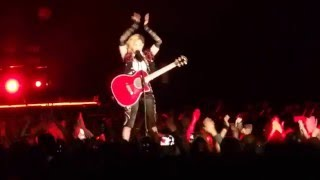 Madonna MC on Five Japanese Dancers  Rebel Heart Tour TOKYO Day 1