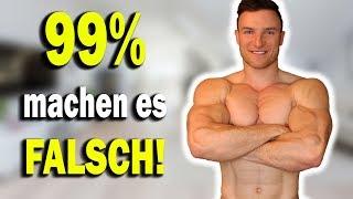 Kein Muskelaufbau ohne richtige Regeneration | Das musst du beachten!