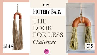 diy Pottery Barn / LOOK FOR LESS CHALLENGE MAY 2020
