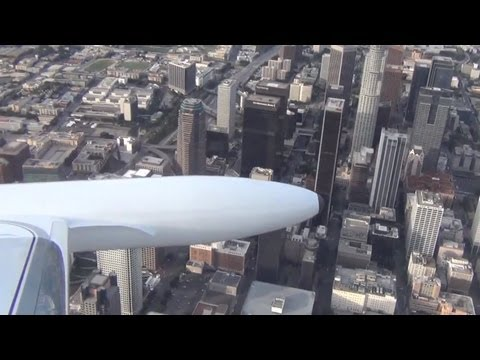 Sightseeing Flight Around L.A. on a Learjet 25 (w/ Clay Lacy)