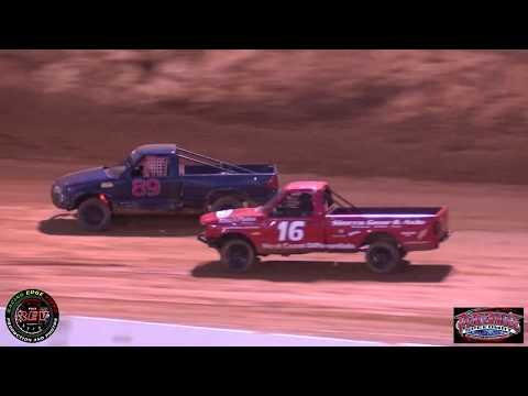Placerville Speedway June 22nd, 2019 Mini Trucks Main Event Highlights