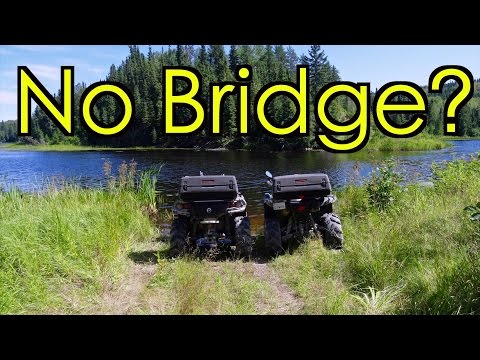 Grizzly & Outlander On A New ATV Adventure Near Camp Robinson - Part 1 - Aug.10,  2016