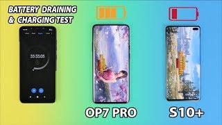 OnePlus 7 Pro Vs Samsung Galaxy S10 Plus Battery Drain & Charging Test🔥🔥