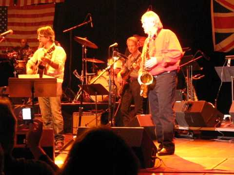 Bobby Keys 70th Birthday on stage in NJ. Sweet Virginia.