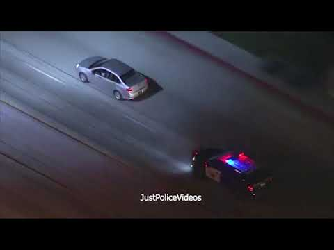 CHP Police Chase: Multiple Pits End Ford Focus Pursuit