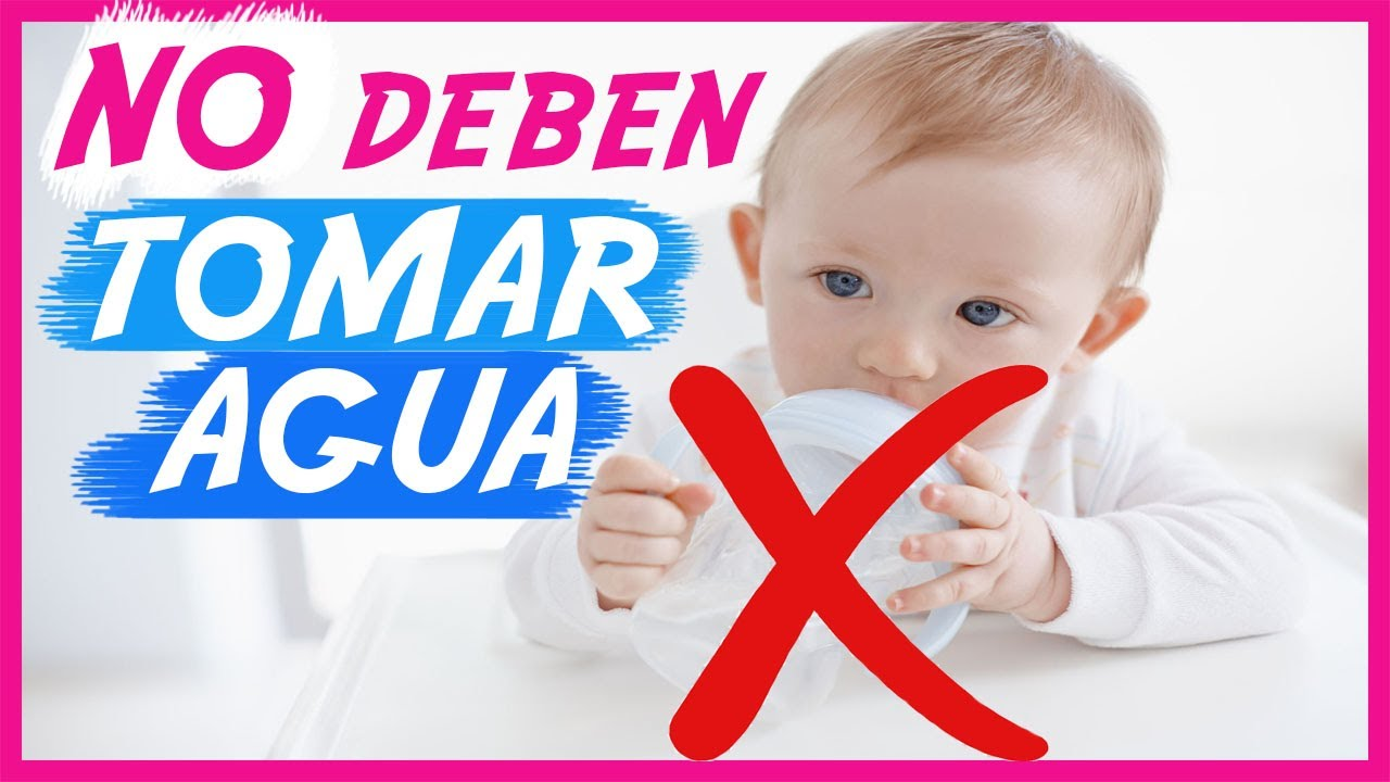 Porque no dar agua antes de los 6 meses a un #bebes | Aquí te explico por qué