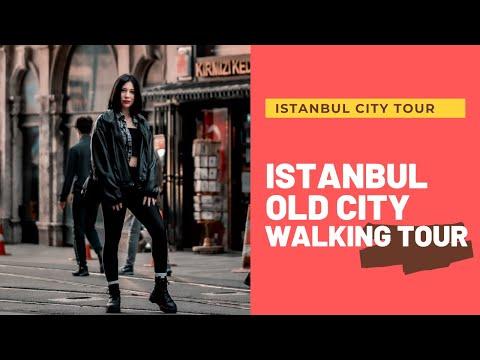 Istanbul City Walking Tour | Istanbul Old City Walking Tour | 4K 60FPS | Turkey 4k Tour | MARCH 2021