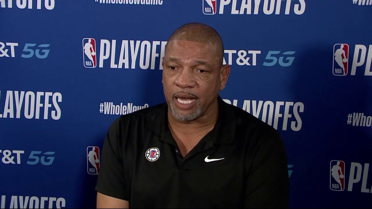 Doc Rivers Delivers Emotional Speech On Jacob Blake
